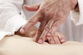 healthy massage on tummy for bladder relaxation
